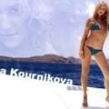 Анна курнікова прибула в стамбул на тиждень моди