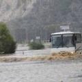 Анталію захлиснули штормові зливи