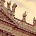 Базиліка сан джовані ін латерано в римі, італія. Латеранського базиліка на мапі рима. Собор святого іоанна хрестителя на фото. »Карта мандрівника