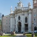 Церква санта-кроче-ін-джерусалемме в римі, італія. Базиліка santa croce in gerusalemme на фото. »Карта мандрівника
