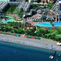 Готелі кемера на першій береговій лінії, туреччина: 5 зірок, 3-4 зірки »карта мандрівника