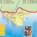Карта кемера туреччина з курортами російською мовою »карта мандрівника