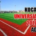 Коджаелі висунутий кандидатом на проведення літньої універсіади 2017