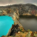 """Озера сліз або озера """"злих духів"""". Гора келімуту. Індонезія"""