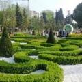 Парк троянд ґьозтепе в стамбулі, туреччина. »Карта мандрівника