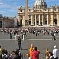 Площа святого петра в римі, італія. Piazza san pietro на мапі рима. Площа перед собором святого петра на фото. »Карта мандрівника