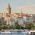 Район галата в стамбулі, туреччина. Вежа, міст, готелі в районі галата. »Карта мандрівника