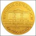 Найбільші і найдорожчі золоті монети міра.монета «золотий кленовий лист» 100 кг.