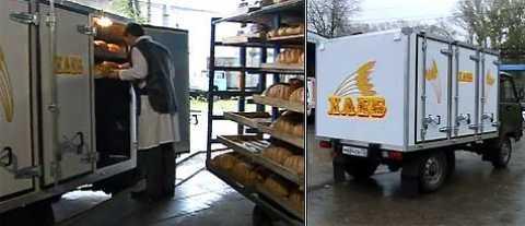Вантажоперевезення. Правила перевезення хліба та хлібобулочних ізделій.проізводство хліба в сиктивкарі