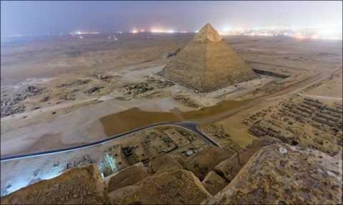 Вид з піраміди хеопса